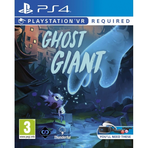 Ex-Display Ghost Giant PS4 Game (PSVR Required) Used - Like New