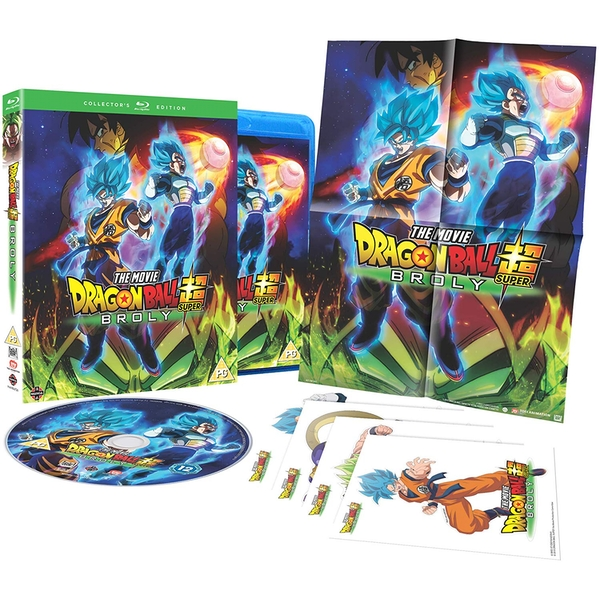 Dragon Ball Super: Broly Collector's Edition Blu-ray