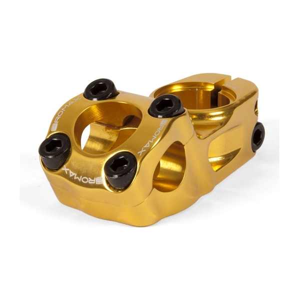 Promax Impact BMX Stem Gold 53mm x 31.8mm x 1 1/8