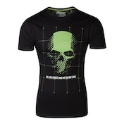 Ghost Recon - Skull Latitude Men's Medium T-Shirt - Black