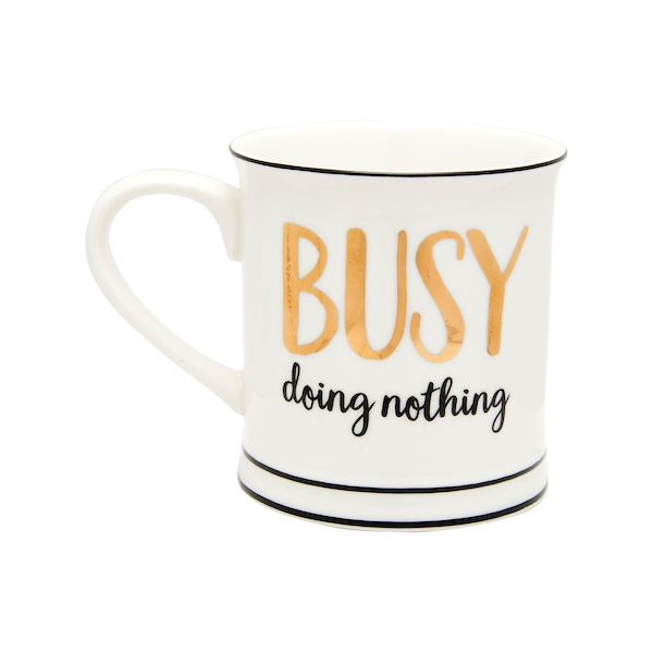 Sass & Belle Busy Doing Nothing Mug