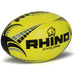 Rhino Cyclone  Rugby Ball Fluo Yellow - Size 4 - Image 2