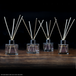 Set of 4 Glass Reed Oil Diffuser Bottles | M&W - Image 4