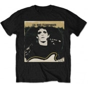 Lou Reed Transformer Vintage Cover Mens Black T Shirt: Small