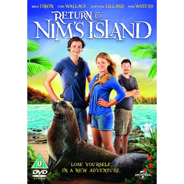 Return to Nim's Island DVD