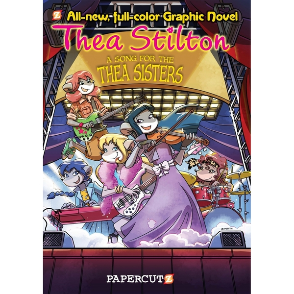 Thea Stilton Graphic Novels 7 A Song for Thea Sisters Hardcover
