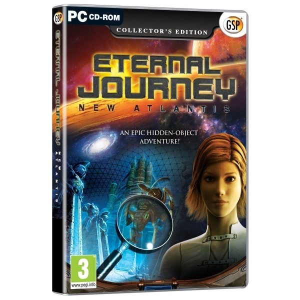 Eternal Journey New Atlantis Collector's Edition Game PC
