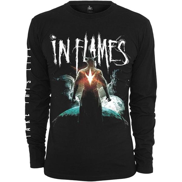 In Flames - Take This Life Unisex Large T-Shirt - Black