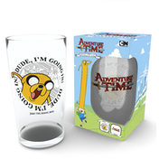Adventure Time Finn and Jake Large Glass