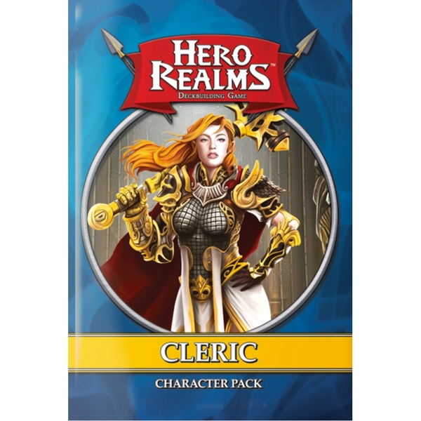 Hero Realms: Character Pack - Cleric (1 Pack) Board Game