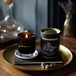 Amber & Lavender (Wonderwick) Noir Glass Candle - Image 3