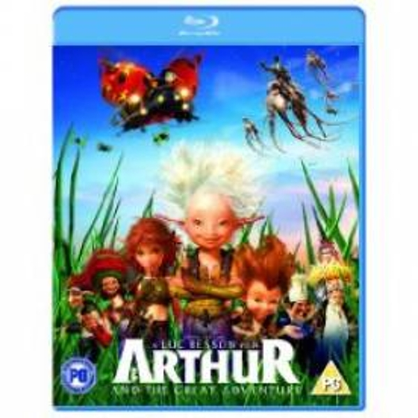 Arthur & The Great Adventure Blu-Ray - Image 1