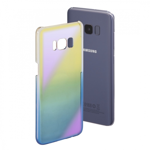 Hama Mirror Cover for Samsung Galaxy S8, Yellow/Blue