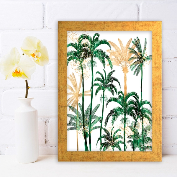AC779788801 Multicolor Decorative Framed MDF Painting