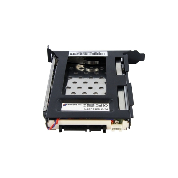 StarTech 2.5in SATA Removable Hard Drive Bay for PC Expansion Slot - Image 3