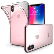 Apple iPhone X Ultra Thin Gel - Rose Pink