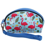 Funky Flamingo (Pack Of 6) Small Make Up Bag