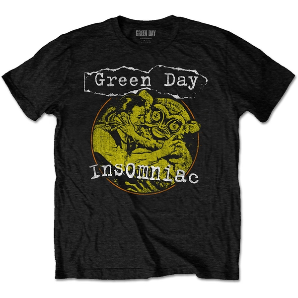 Green Day - Free Hugs Men's X-Large T-Shirt - Black