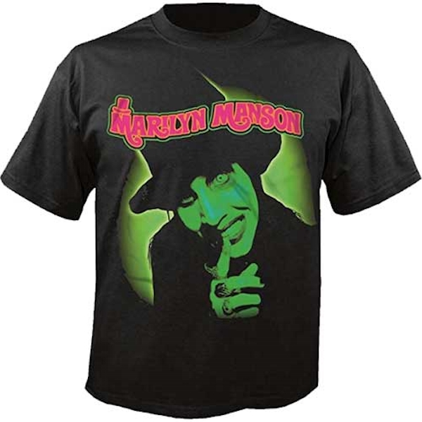 Marilyn Manson - Smells Like Children Unisex X-Large T-Shirt - Black