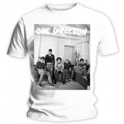 One Direction Band Lounge Black & White Skinny TS: Large