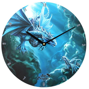 Water Dragon Wall Clock by Anne Stokes