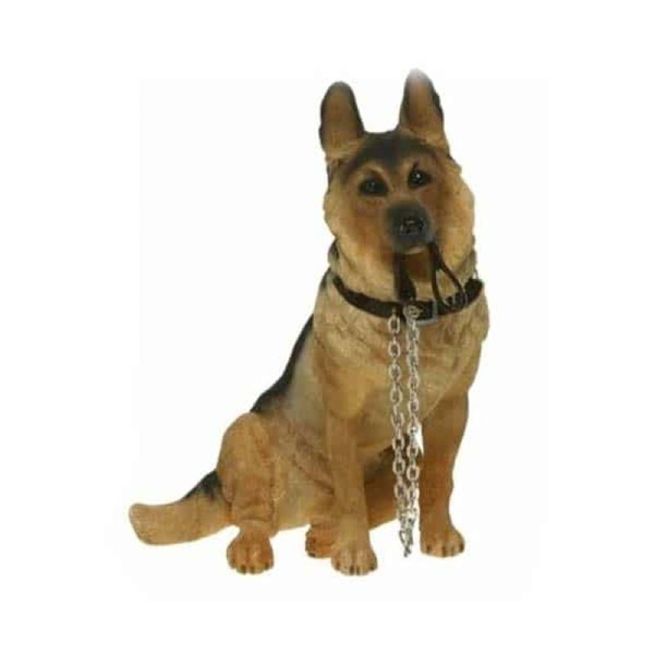 Walkies German Shepherd Resin Figurine By Lesser & Pavey