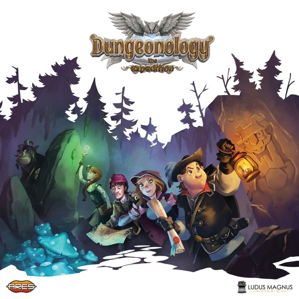 Dungeonology - The Expedition Board Game