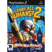 Destroy All Humans 2 Game PS2