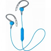 JVC HAEC20BTAE Sports Wireless Bluetooth In Ear Headphones with Ear Clip Blue