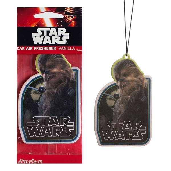 Chewbacca (Star Wars) Official Disney Car/Home Air Freshener - Image 2