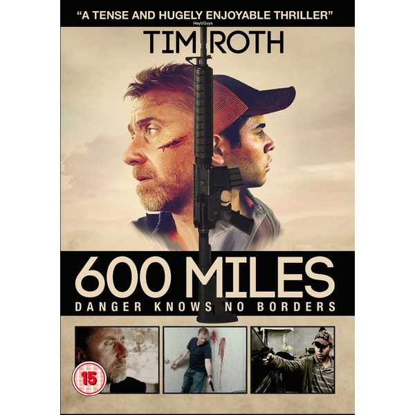 600 Miles: Danger Know No Borders DVD