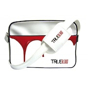 True Blood Shoulder Bag Logo White