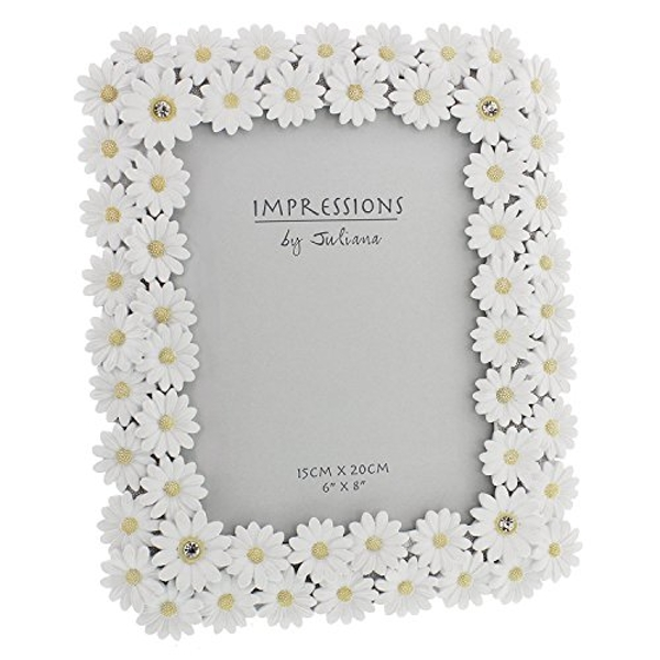 """6"""" x 8"""" - Impressions Floral Daisy Photo Frame"""