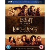 Middle Earth - Six Film Theatrical Version Blu-ray