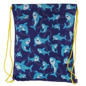 Shark Cafe Drawstring Bag