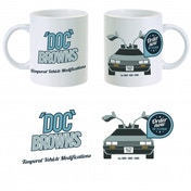 Back to the Future Doc Brown's Vehicle Mods Mug ZT