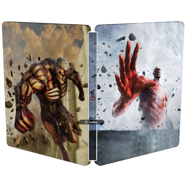 Attack On Titan 2 (A O T) Wings Of Freedom PS4 Game + Steelbook