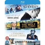 Blu-ray Pack : Everest/Steve Jobs/Wolf Of Wall Street/Theory Of Everything/...