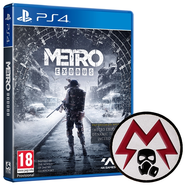Metro Exodus PS4 Game + Patch - Image 1
