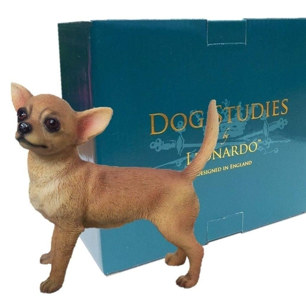 Chihuahua Tan Figurine By Lesser & Pavey