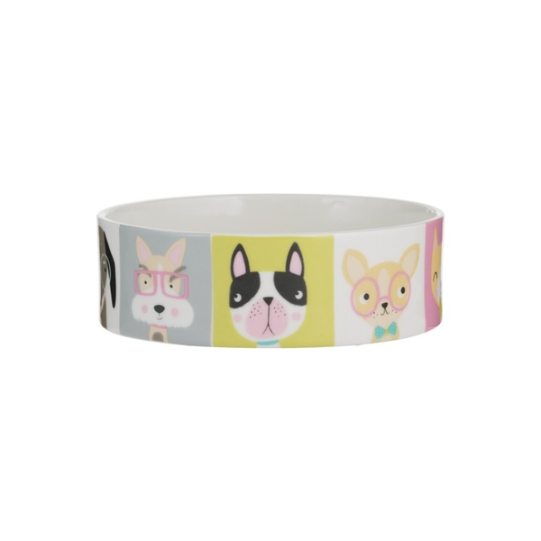 Mason Cash Pawtrait Dog Bowl 15x5cm, One Size