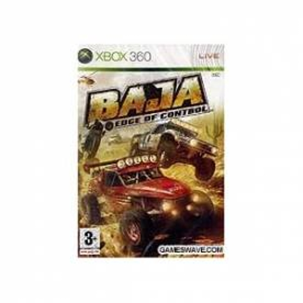 BAJA Edge Of Control Game Xbox 360