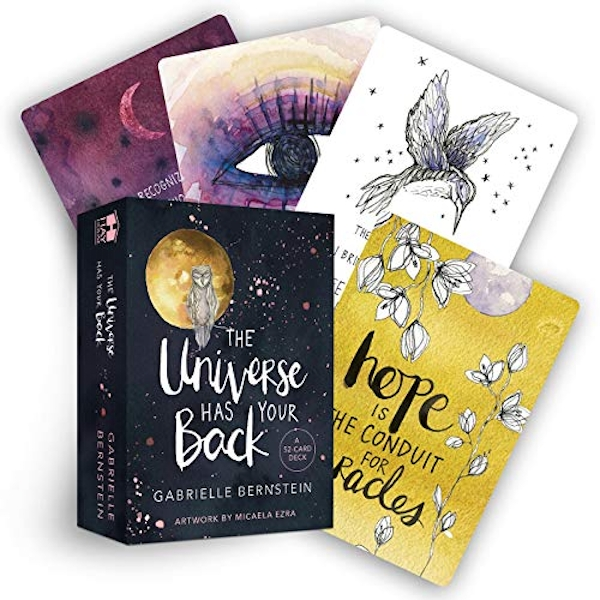 The Universe Has Your Back A 52-Card Deck Cards 2017