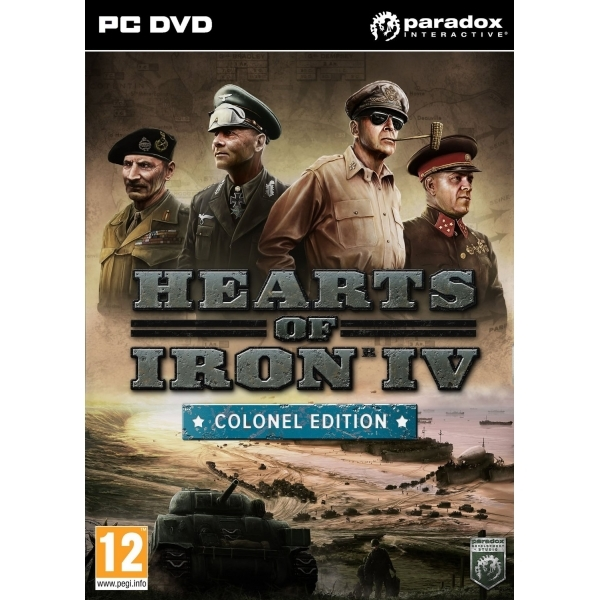 Hearts Of Iron IV Colonel Edition PC Game