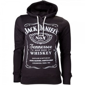 JACK DANIEL'S Women's Classic Old No. 7 Extra Large Hoodie, Black