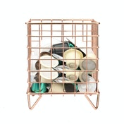 Coffee Pod Cage Holder | M&W Rose Gold