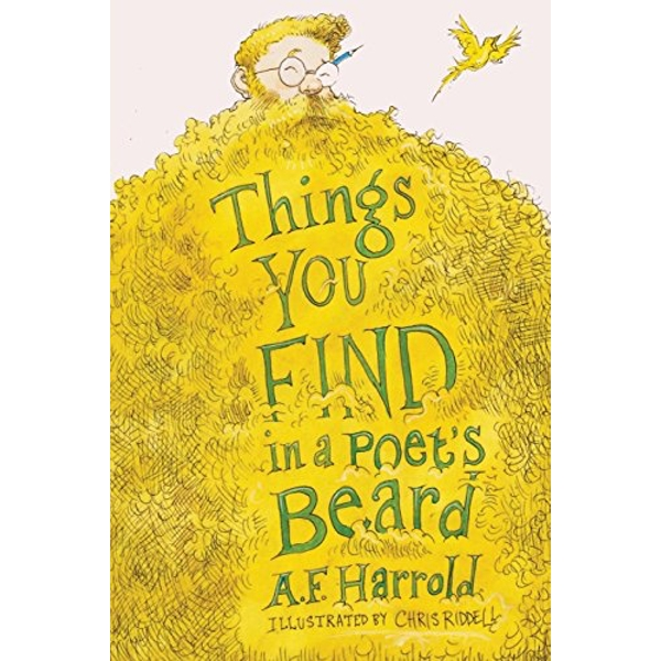 Things You Find in a Poet's Beard by A. F. Harrold (Paperback, 2015)