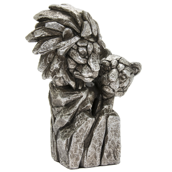 Natural World Lion Bust Figurine By Lesser & Pavey
