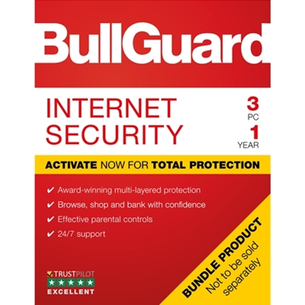 Bullguard Internet Security 2019 1Year/3PC Windows Only 25 pack Soft Box English - Image 1