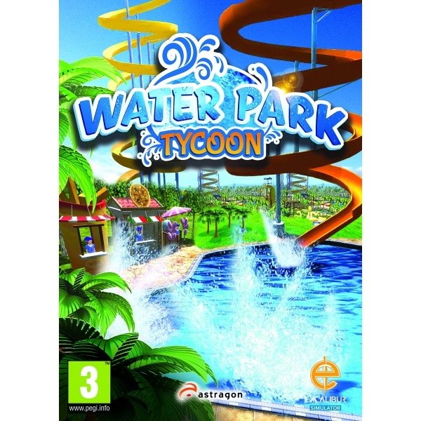 Water Park Tycoon PC Game [Download Card In Box] - Image 1